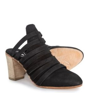 Free People NWT Byron Strappy Heel Mules
